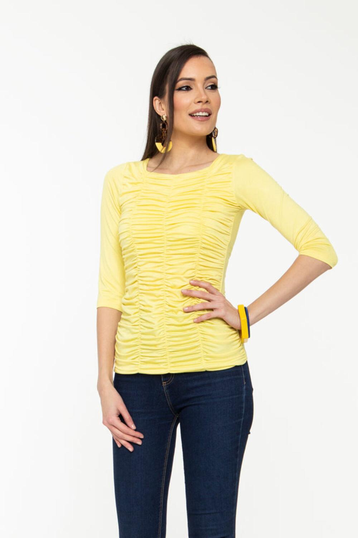 Zsanka póló - sárga