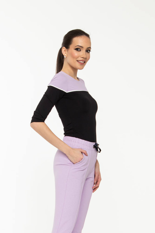 Bori póló - pasztell lila