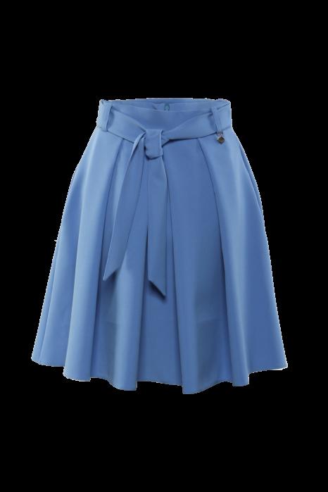 Öves rakott szoknya - Kék