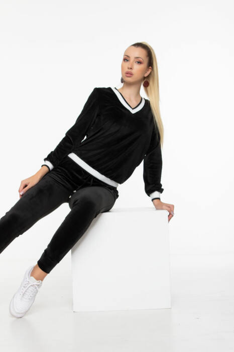 Evelin pulóver - Fekete
