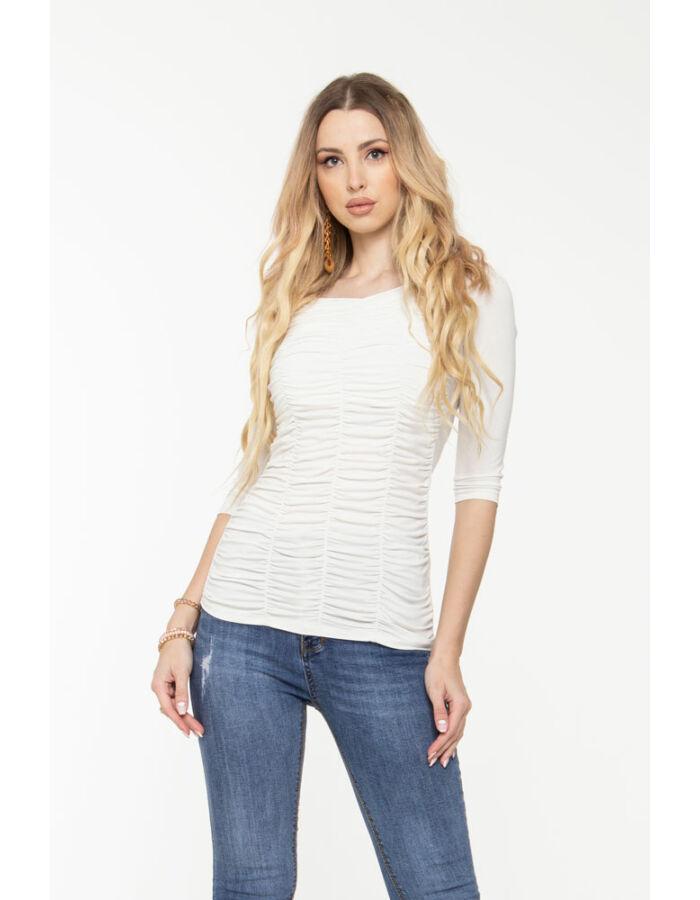 Zsanka póló - fehér