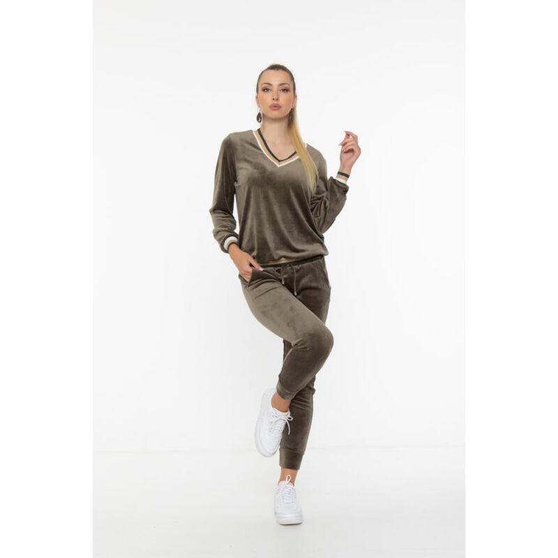Evelin pulóver - Khaki