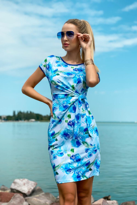 Tessza ruha - kék tónusos